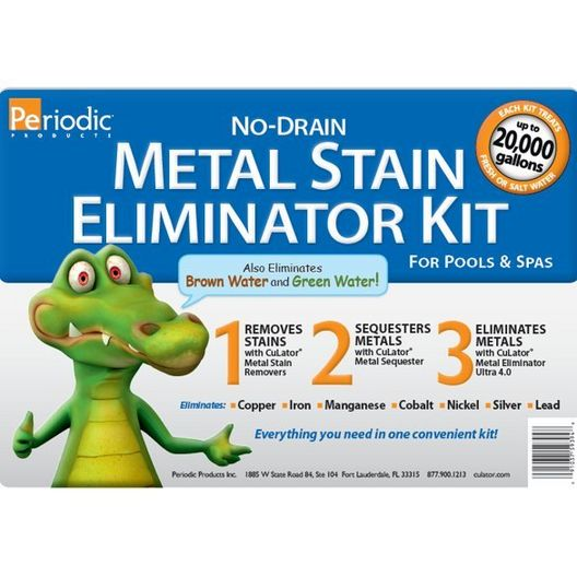 CuLator No Drain Metal Stain Kit