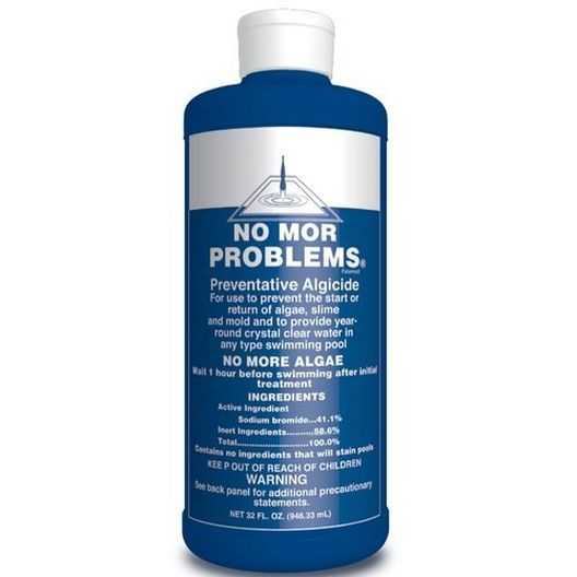 No Mor Problems Preventative Algaecide, 1qt