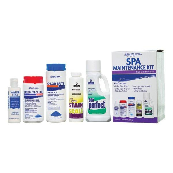 Hot Tub Cleaning Maintenance Kit Spa Cleaner Filter Annual Service Kits Spas