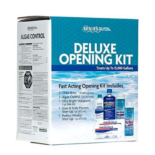 Standard Opening Kit for up to 35,000 Gallons