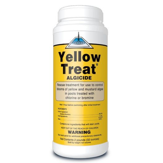Yellow Treat Algaecide, 2lb Container