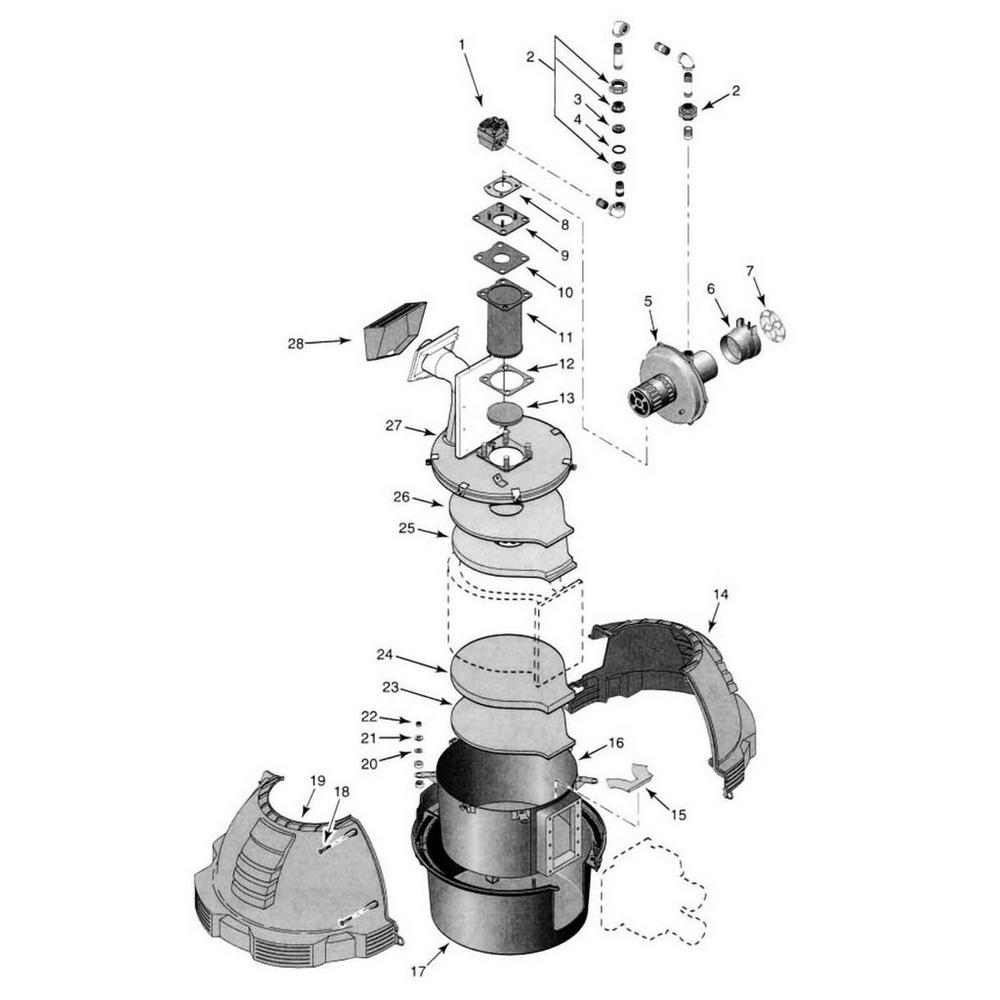 Sta-Rite Heater Max-E-Therm Burner System image
