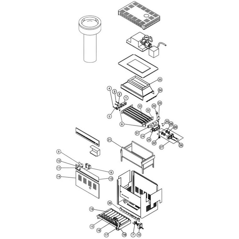 Pentair Heater Powermax PowerMax Residential image
