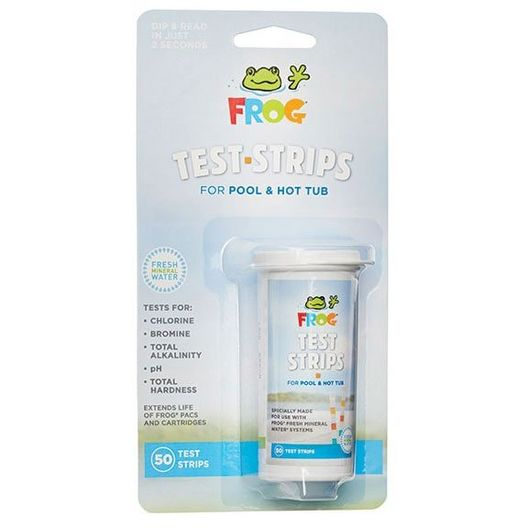 FROG Hot Tub Test Strips