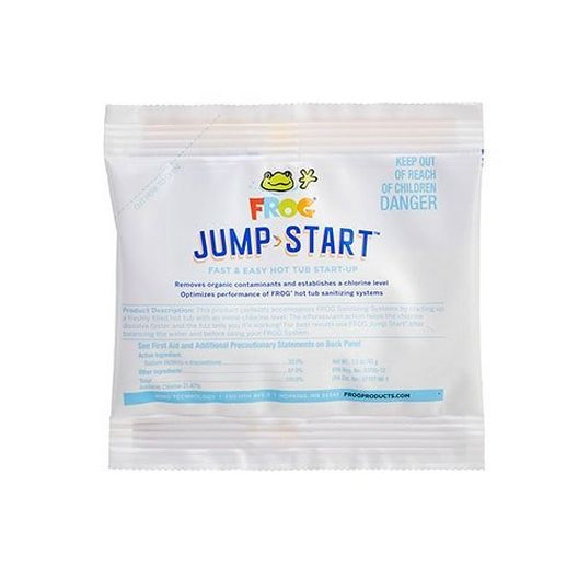 01-14-6012 Frog Jump Start 1.5oz Spa Shock, Sodium Di-Chlor