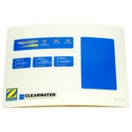 Zodiac - Clearwater LM2 Control Label - 15528
