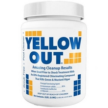 Coral Seas - Yellow Out Pool Sanitizer