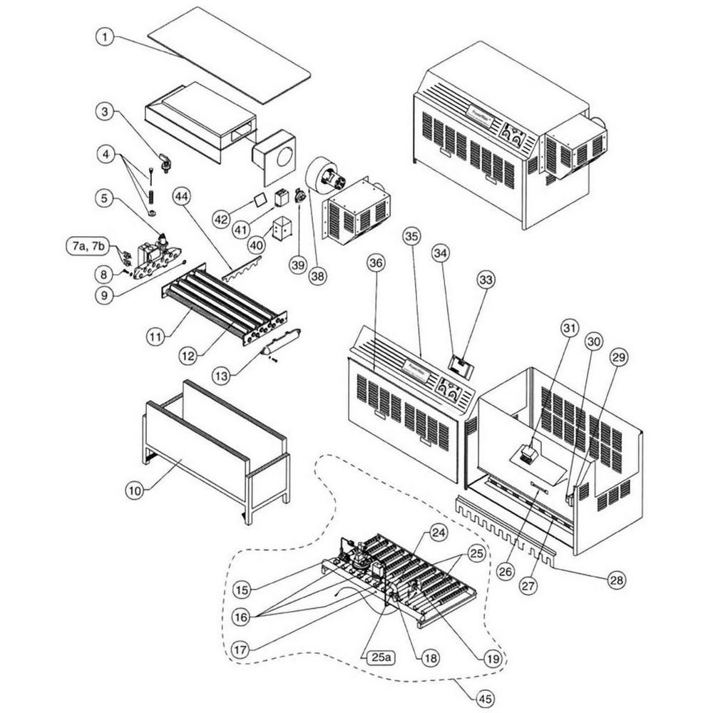 Pentair Heater Powermax PowerMax Commercial image