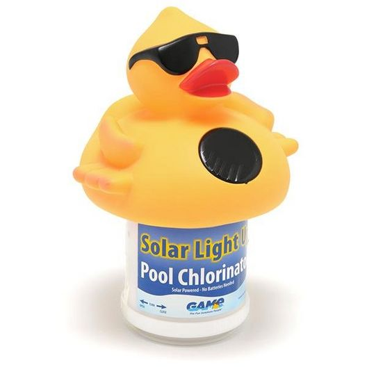 Solar Lighted Chlorinator