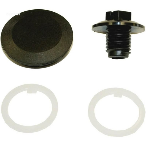 Hayward - Cover Ret.Screw with Slp.Washers and Ctr.Cap