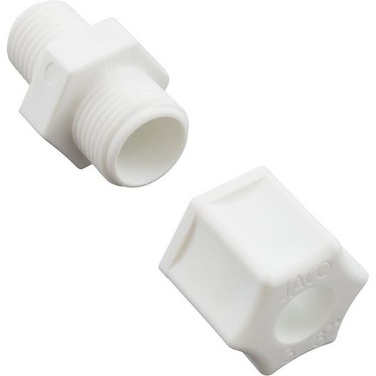 Harrington Industries - Compression Fitting 1/4in.MPT x 3/8in. Tube - 16615