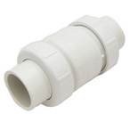 PVC True Union Check Valve, Adjustable 1-14 lbs, 1750-20