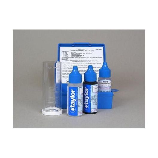 Calcium Hardness Drop Pool and Spa Water Test Kit