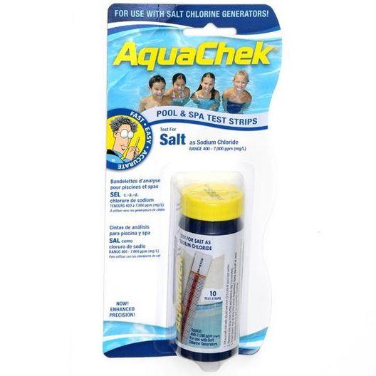 White Salt Test Strips