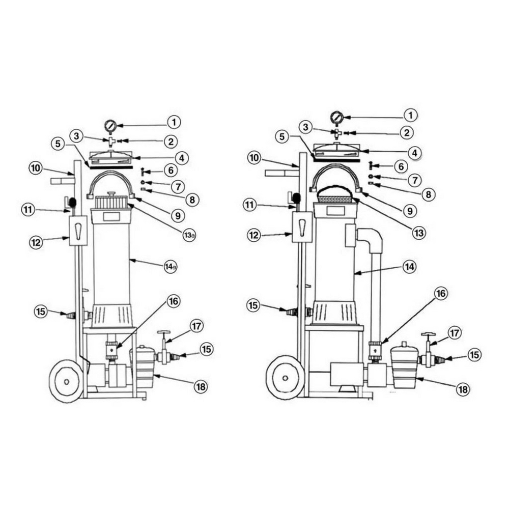 Portable Filter Baker Hydro Cartridge & Portable Bag Vacuum Filter image