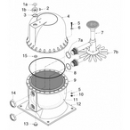 Sta-Rite High-Rate HRP20, HRP24 & HRP30 Filter