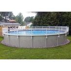 Economy 24in Resin Above Ground Pool Fence Kits