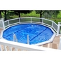 "24"" Resin Above Ground Pool Fence Base Kit A, 8 Sections"