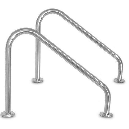 Inter-Fab - 30in. Stair Side Mounted Rail .049in. Wall Tubing (Pair) - 311388