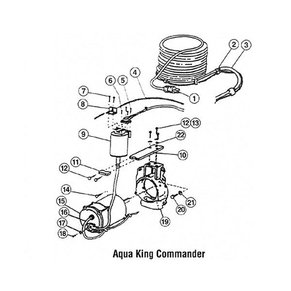 Aqua Vac King Commander Swivel Assemblies image