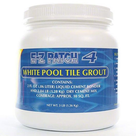 E-Z PRODUCTS - E-Z Patch 4 White Pool Tile Grout Repair - MASTER-prod1850036