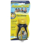 Yellow Free Chlorine Test Strips