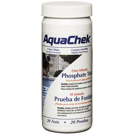 Aquachek - AquaTrend Phosphate Residential Test Kit - 20 Tests - 220793