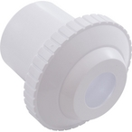 "HydroStream 1-1/2"" Slip 3/4"" Opening Directional Flow Outlet Fitting, White"