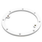Main Drain Securing Frame 7-3/4in. White WGX1048B