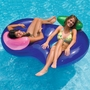 Side by Side Double Tube Pool Lounge