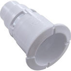 Poly Gunite Spa Jet Body Wall Fitting (Old Style), White