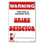 Pool Urine Detector Sign - 222257