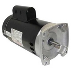 B2859 Square Flange 2HP Up-Rated 56Y Pool and Spa Pump Motor