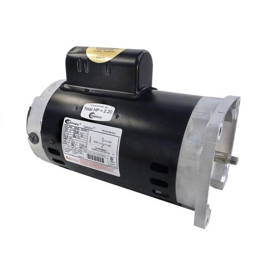 B855 Square Flange 2 HP Up-Rated 56Y Pool and Spa Pump Motor