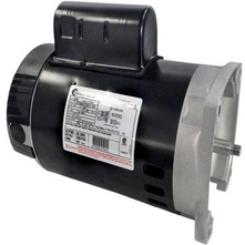 56Y Square Flange 1 HP Up-Rated Pool and Spa Pump Motor, 14.2/7.1A 115/230V