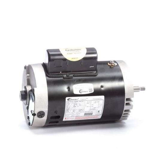 56J C-Face 1-1/2 HP Full Rated Pool and Spa Pump Motor, 9.2/18.4A 115/230V