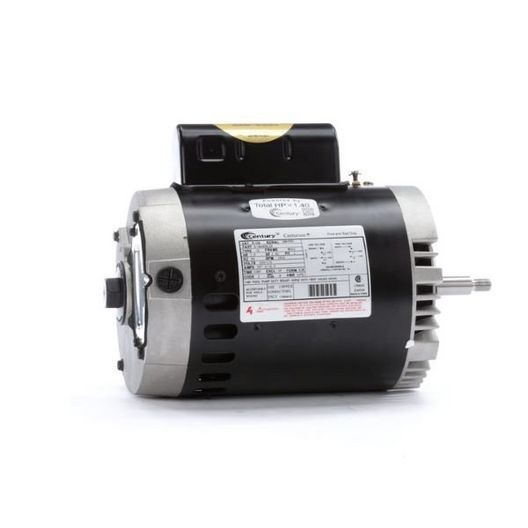 B128 C-Face Single Speed 1HP Full Rated 56J Pump Motor, 7.2/14.4A 115/230V
