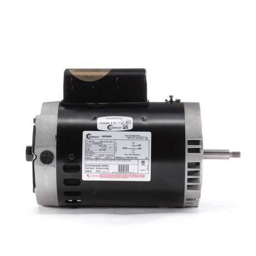 56J C-Face 2 HP Full Rated Pool and Spa Pump Motor, 10.5A 230V