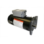 Century A.O. Smith - Guardian 56Y Square Flange 2 HP Single Speed SVRS Pool and Spa Motor, 10A 230V - 222445