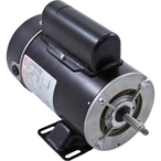 Flex-48Y Thru-Bolt 1HP Dual Speed Above Ground Pool Motor - 11/2.9A, 115V