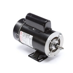 Flex-48 48Y Thru-Bolt 1-1/2 or 0.18 HP Dual Speed Above Ground Pool Motor, 8.0/2.6A 230V