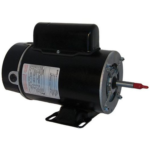 Flex-48 48Y Thru-Bolt 1-1/2 or 0.25 HP Dual Speed Above Ground Pool Motor, 16.4/4.4A 115V