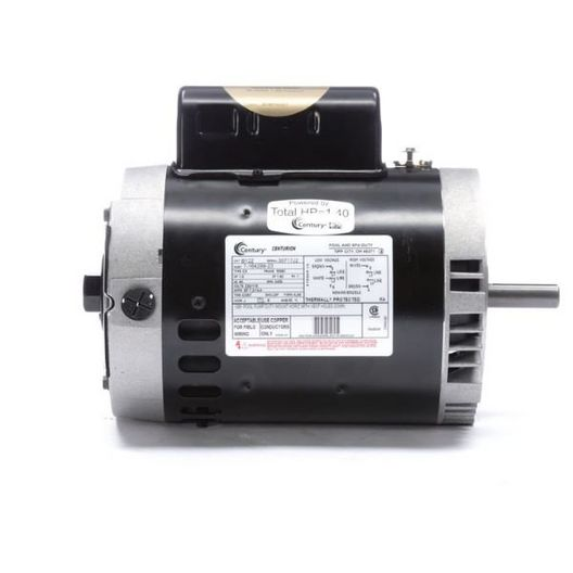 56C C-Face 1 HP Full Rated Pool and Spa Pump Motor, 7.2/14.4A 115/230V