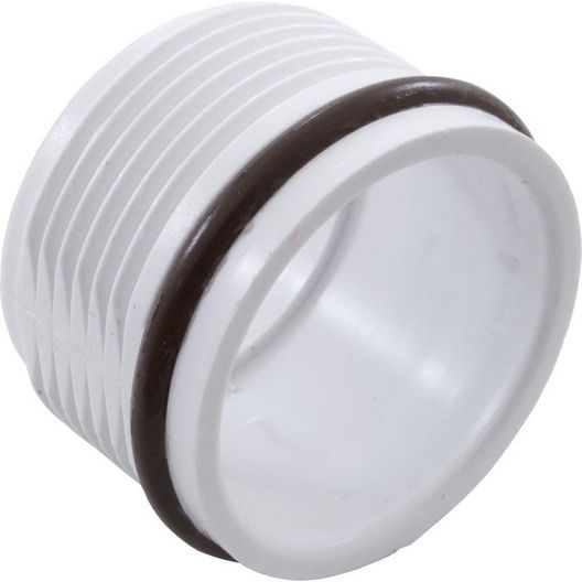 Waterway - Poly Storm Gunite Threaded Retainer Ring Assembly with O-Ring, White - 222937