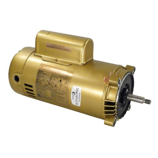 Hayward - 2 HP Single Phase Threaded Shaft 115/230V Motor for Super Pump - 223498