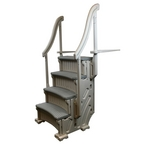 CCX-AG Curve InPool Step System for Inground & Above Ground Pools