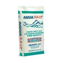 Aquasalt - Swimming Pool High Purity Salt 40 Lbs. 100% Sodium Chloride