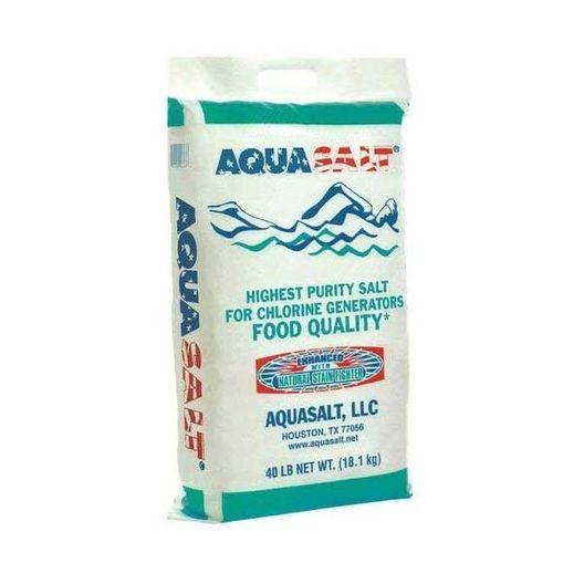 Aquasalt - Swimming Pool Salt 40 Lbs. 100% Sodium Chloride - 223703