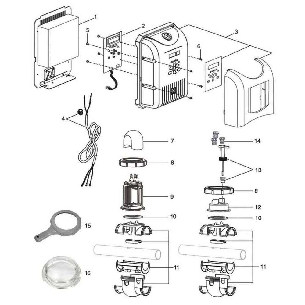 Jandy AquaPure Ei Series Salt Chlorine Generators image