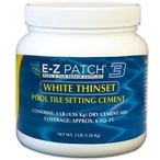 E-Z Patch 3 White Thinset Pool Tile Setting Cement